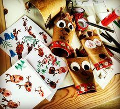 """Páči sa mi to: 6, komentáre: 0 – Zuzana (@spagi.sk) na Instagrame: """"Trochu predvianočne 🎄 ale konečne sme využili tie rolky od toaleťáku 🙈 a precvičili palce 👍. Naše…"""" Gift Wrapping, Gifts, Instagram, Gift Wrapping Paper, Presents, Wrapping Gifts, Favors, Gift Packaging, Gift"""