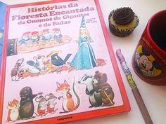 """Livro """"Histórias da Floresta Encantada de Gnomos de Gigantes e de Fadas"""""""