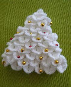 sapin de no l tutoriel crochet facile hiver no l au crochet et en dentelle pinterest crochet. Black Bedroom Furniture Sets. Home Design Ideas