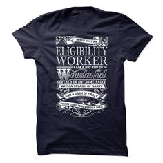 Awesome T-shirts  Awesome tee for Eligibility Worker at (3Tshirts)  Design Description: Im not just an Eligibility Worker, Im a big cup of WONDERFUL covered in awesome sauce with a splash of sassy and a dash of crazy. You be sure to remember that !  If ... -  #shirts - http://tshirttshirttshirts.com/automotive/best-tshirts-awesome-tee-for-eligibility-worker-at-3tshirts.html