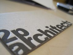 2p architects business card