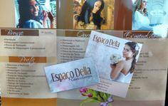 Espaço Della Salão de Beleza penteados, maquiagem Airbrush, pedicure e manicure, estetica facial e corporal, visagismo, maquiagens em geral