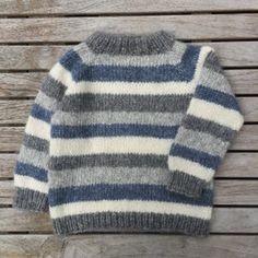 Image of Brormand Sweater Str. 1 til 10 År Boys Knitting Patterns Free, Baby Sweater Patterns, Baby Cardigan Knitting Pattern, Sweater Knitting Patterns, Knitting For Kids, Baby Boy Sweater, Knit Baby Sweaters, Knitted Baby Clothes, Toddler Sweater