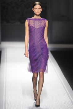 Alberta Ferretti RTW Fall 2012 - Delicately Delicious