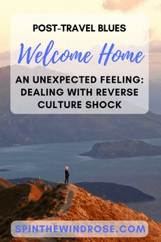 As we stepped off the plane, home for the first time in six months, a mix of emotions washed over me... here's how I'm coping with reverse culture shock.