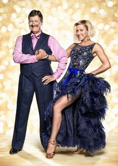 Strictly Come Dancing 2014. Tim Wonnacott & Natalie Lowe. Official photo
