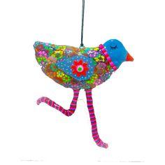 bird sculpture wall hanging Handmade made with  by MIRAKRIS, $38.00