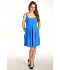 Susana Monaco Tank Pleat Dress
