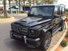 Mercedes-Benz BRABUS G63. Check out for more BRABUS cars on: http://dailybulletsblog.com/brabus-in-ibiza-2014-cars-photos/