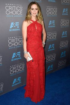 The best looks from the 2015 Critics Choice Awards: Emily Blunt