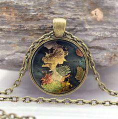 Игра престолов ожерелья дом старк черный волк ювелирные изделия готическое ожерелье на цепи подарок для детей купить на AliExpress