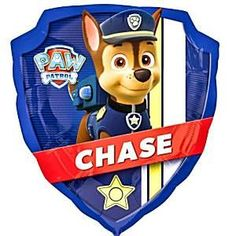 27 Paw Patrol Foil Balloon each Marshall on one side and Chase on the other… f709aad067d