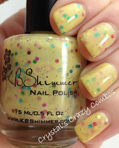 Crystal's Crazy Combos: KBShimmer - Where My Peeps At?