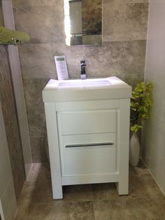 MODERN gloss 600mm white floor standing vanity unit. Also available in 750, 900, 1200, 1500 and 1800mm with some in twin basin versions.