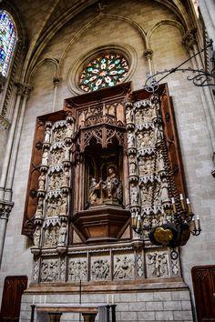Capilla de la Virgen del Rosario, Basilica de San Vicente Ferrer (Valencia - Spain)