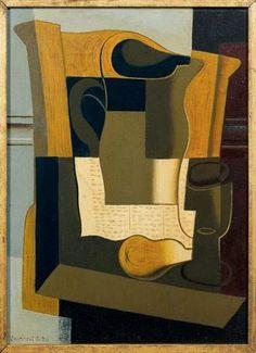 Juan GRIS (1887-1927) - Le broc, 1920