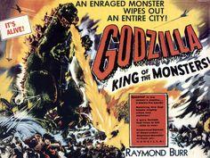 Godzilla King Of Monsters - creature, monster, poster, godzilla