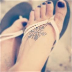 Cute Small Tattoo Designs for girl feet (38) lol, love the tattoo, also that title is hilarious!