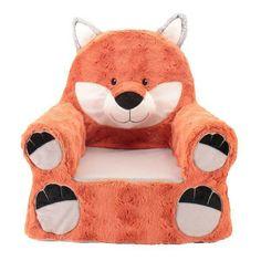 "Animal Adventure Sweet Seats Plush Chair - Fox - Animal Adventure - Babies""R""Us Baby Boy Rooms, Baby Boy Nurseries, Toys R Us, Fox Character, Fox Nursery, Kids Seating, Soft Seating, Toddler Age, Babies R Us"