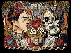 Idoles: Frida Kahlo 50x70 cm