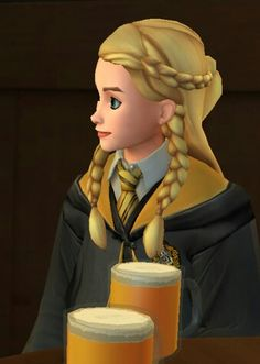 Penny Haywood hair Harry Potter Fan Art, Harry Potter Hogwarts, Hufflepuff Pride, The Sorcerer's Stone, Hogwarts Mystery, Twitter Layouts, Story Inspiration, Disney Characters, Fictional Characters