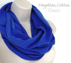 Shoply.com -Infinity Scarf Royal Blue Cobalt. Only $20.00
