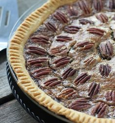 Classic Pecan Pie Crunchy, buttery pecans and a perfectly gooey filling . even better with a scoop of vanilla ice cream Just Desserts, Delicious Desserts, Yummy Food, Pie Dessert, Dessert Recipes, Yummy Treats, Sweet Treats, Southern Pecan Pie, Down South