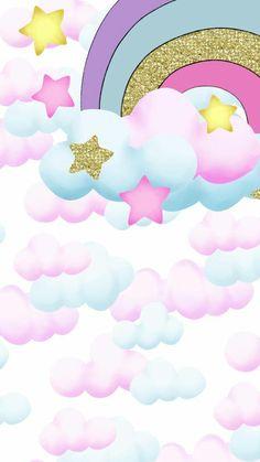 59 Ideas Baby Shower Ideas Invitaciones Unicornio For 2019 Unicorn Drawing, Unicorn Art, Rainbow Unicorn, Unicornios Wallpaper, Rainbow Wallpaper, Wallpaper Backgrounds, Phone Backgrounds, Scrapbook Paper, Scrapbooking