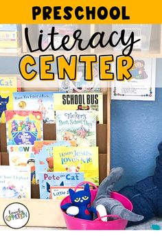 The Math Center in a preschool classroom is a place for children to explore and practice pre-k math skills.. See what is inside my Math Center. Preschool Centers, Preschool Classroom, Literacy Centers, Play Based Learning, Learning Centers, Cheap Used Books, Classroom Organization, Organization Ideas, Dramatic Play