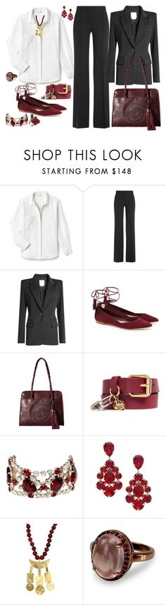 """""""Wardrobe Staples: The Pantsuit"""" by theranna ❤ liked on Polyvore featuring Lacoste, DKNY, Loeffler Randall, Patricia Nash, Alexander McQueen, Dsquared2, L. Erickson, Nest and Atelier Swarovski"""