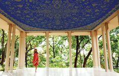 India's Ananda in the Himalayas is an Ayurvedic spa–meaning you get yoga and meditation in addition to massage.