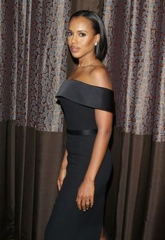 Scandal star Kerry Washington wearing a Spring/Summer 2016 runway look to the ACLU Bill of Rights dinner in California #thisisboss