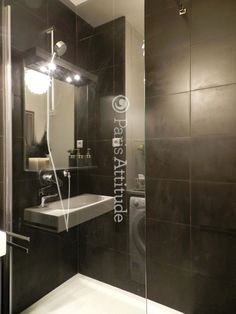 fully enclosed shower tiny bathroom pinterest shower cubicles and cubicle. Black Bedroom Furniture Sets. Home Design Ideas