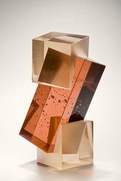 Contemporary Art Sculpture Installation New Ideas Geometric Sculpture, Art Sculpture, Abstract Sculpture, Sculpture Ideas, Modern Sculpture, Geometric Art, Art Deco, Cast Glass, 3d Prints