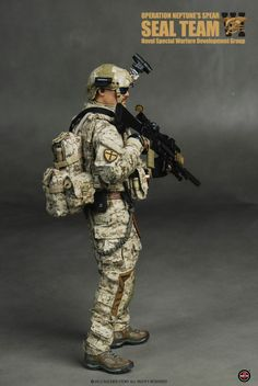 onesixthscalepictures: Soldier Story DEVGRU Operation Neptune's Spear SEAL Team VI : Latest product news for scale figures inch coll. Military Photos, Military Gear, Military Police, Special Ops, Special Forces, Girly Girl Outfits, Military Action Figures, Future Soldier, Navy Seals