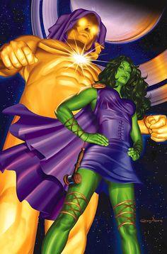 SHE-HULK #12//Greg Horn/H/ Comic Art Community GALLERY OF COMIC ART