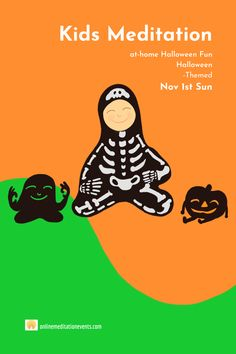 Group Meditation, Online Meditation, Free Meditation, Meditation Benefits, Guided Meditation, Halloween This Year, Family Halloween, Halloween Themes, Negative Emotions