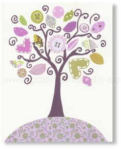 Art for Children Nursery wall decor baby nursery por GalerieAnais, $14.00