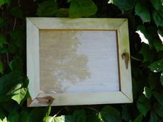 8x10 Rustic barnwood Picture Frame Repurposed by AJRWoodworks, $20.00