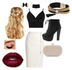 """""""Special events"""" by paula-flagg on Polyvore featuring MaxMara, Boohoo, Santi, ASOS, Simons and Avon"""