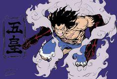 gear fourth snake man Drawing Cartoon Characters, Cartoon Girl Drawing, Character Drawing, Cartoon Drawings, Anime Characters, Cartoon Art, Luffy Gear Fourth, Luffy Gear 4, Kaido Vs Luffy