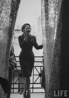 Sophia Loren by Alfred Eisenstaedt, Italy, 1961