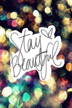 Stay Beautiful. Get Lucky | ShopCube.com #StayBeautifulGetLucky #ShopCube