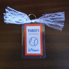 Softball Bag Tags Sports Bag Tags Luggage by ReginesPartyBoutique