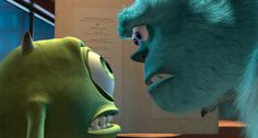 """""""Ook-lay in the ag-bay! Disney Monsters, Disney Pixar, Walt Disney, Monster Names, Monster S, Mary Poppins 1964, Monsters Inc University, Mike Wazowski, Disney Movie Quotes"""