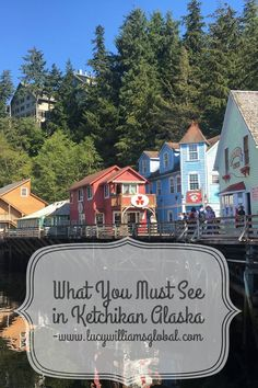 Ketchikan is in Alaska and is a place that you go to if you go on an Alaskan cruise. What must you see in Ketchikan? What is there to see and do? There are many tours to do in Ketchikan from watchi… Cruise Port, Cruise Travel, Cruise Vacation, Travel Usa, Cruise Tips, Canada Travel, Disney Cruise, Canada Trip, Cruise Excursions