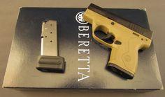 Beretta 9mm Nano Pistol Model BU9 Desert Earth Find our speedloader now! http://www.amazon.com/shops/raeind