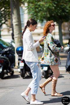 Diletta Bonaiuti Street Style Street Fashion by STYLEDUMONDE Street Style Fashion Blog