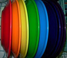 Rainbow plates   Flickr - Photo Sharing!