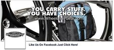 Join WheelchairGear on Facebook  Cool Wheelchair Accessories and Wheelchair Bags  www.WheelchairGear.com